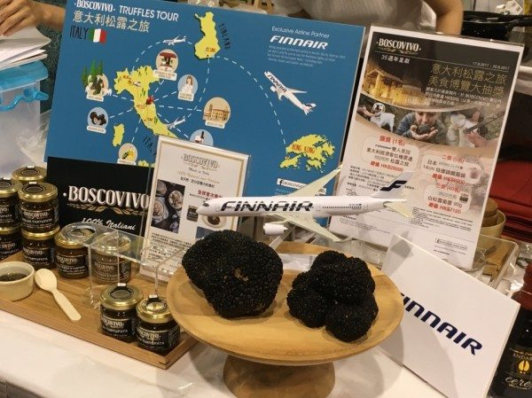 Luibao together with Boscovivo and HKTDC launched special truffle hunting campaign in the food expo hong kong 2017
