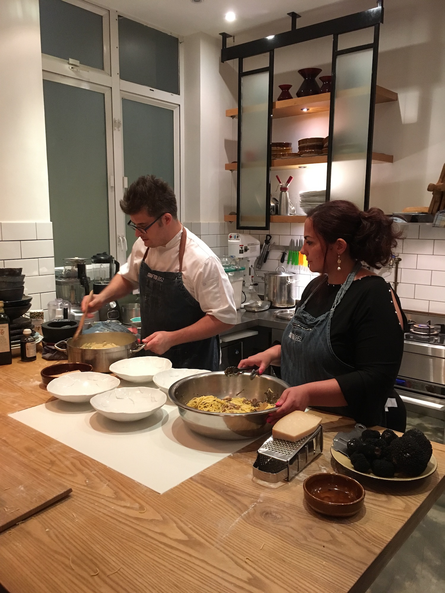 Boscovivo X Craft852 Truffle and Homemade Pasta Event