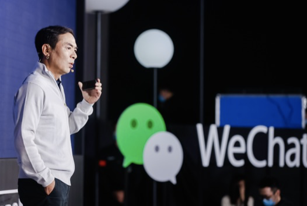 zhang xiao long is the father of wechat and he insists the connection and the simplicity are the two core values for wechat social media's success