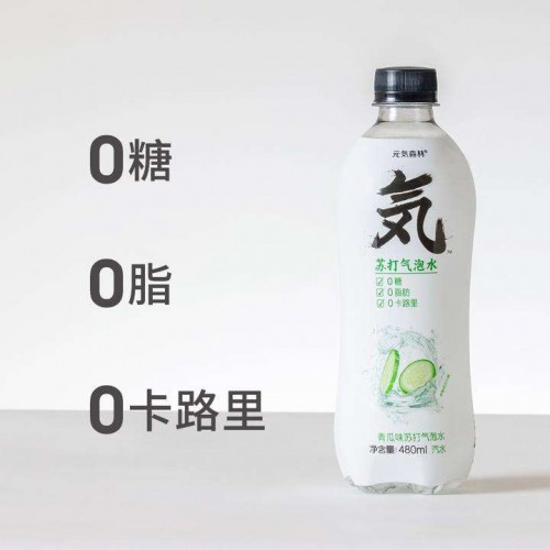 yuanqisenlin is the black horse in the healthy soda drink category in china
